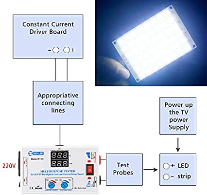 Andoer 0-330V Output Multifunctional LED TV Backlight and
