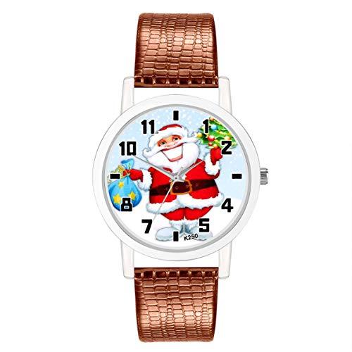 1911 Ladies Wrist Watch - K250-X Luxury Brand Quartz Watch Fashion PU Leather Watch Strap Round Dial Sports Casual Women Wristwatch
