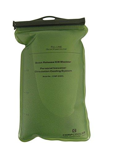 Ice Water Circulating Cooling Vest Tan Detachable Bladder M-L by Compcooler (Image #4)
