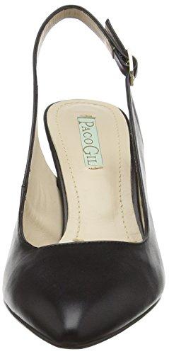 Noir Paco Femme Escarpins Gil Noir P3012 PCwxpq6