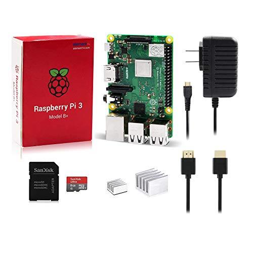 - LoveRPi Raspberry Pi 3 Model B+ 8GB Plug and Play Starter Kit
