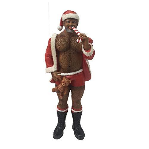 December Diamonds Poke The Bear Ornament - Santa Bear POC]()
