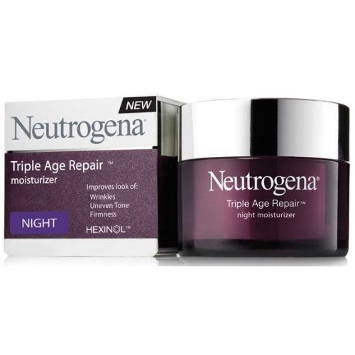 Neutrogena Triple Age Repair Night Moisturizer Cream, 1.7 Ounce - 12 per case.