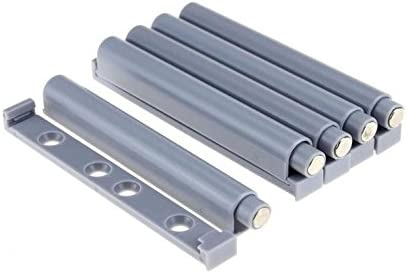 10 x Push to Open System Damper Buffer for Door Cabinet darwe Rubber end