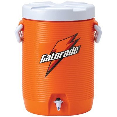 Gatorade Water Coolers - 5-gallon cooler w/fastflowing spi