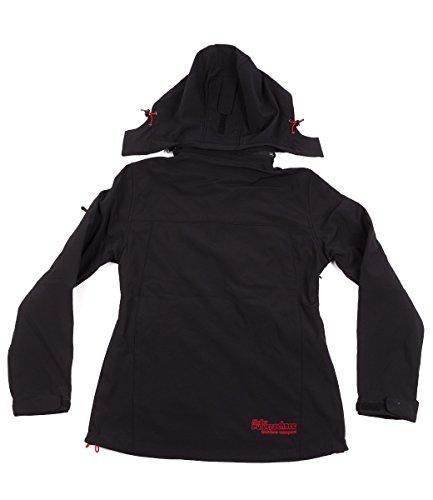softshell- performances veste 8000mm cagoule noire - Noir, M