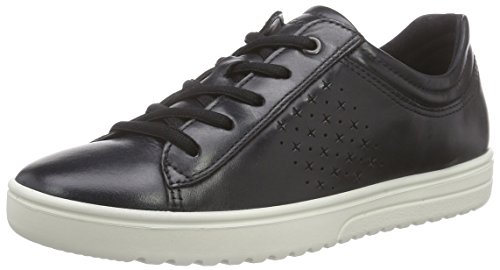 Ecco Signore Fara Derby Lace Up Brogue Neri (2001black)
