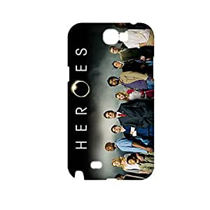 Generic Abstract Back Phone Covers For Guys Design With Heroes For Samsung Galaxy Note2 Full Body Choose Design 1-4