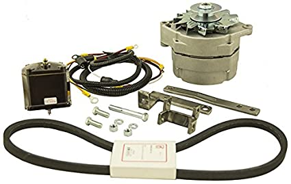 amazon com ford 2n 8n 9n 6 volt to 12 volt conversion kit for rh amazon com 9N Ford Tractor Wiring Ford 8N Wiring Diagram Headlights