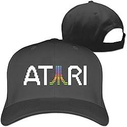 ATARI Colorful logo Truck caps Cool Men Women hat Black (5 colors)