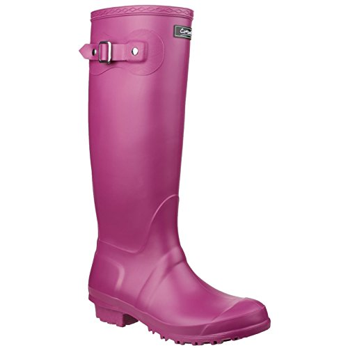 Cotswold Sandringham Buckle-Up Wellington / Womens Boots / Weather Wellingtons (4 UK) (Purple) Vx10LWS2zE