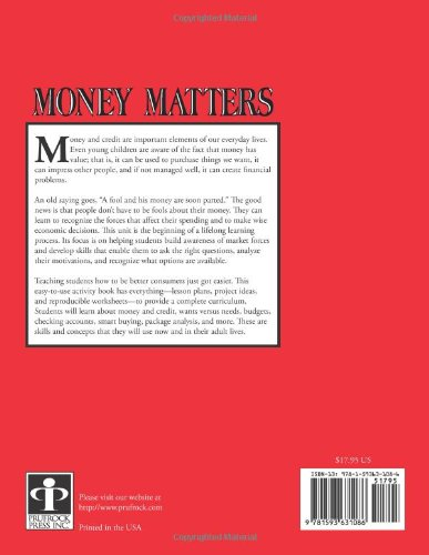 Amazon.com: Money Matters: How to Become a Smart Consumer, Grades ...