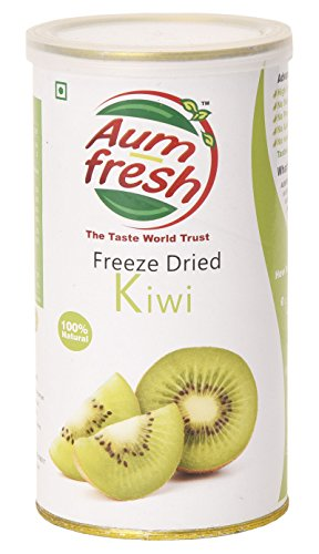 Aum Fresh Organic Freeze Dried Kiwi 25 g / 0.8 Ounce - USDA - Slices Kiwi