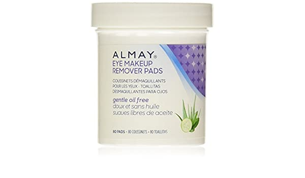 Amazon.com : Almay Oil-Free Eye Makeup Remover Pads, 80 Counts (Pack of 18) : Beauty