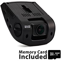 Rexing V1 3rd Generation 4K UHD WiFi Car Dash Cam 2.4' LCD 170° Wide Angle Dashboard Camera Recorder with WiFi, 16GB Card, G-Sensor, WDR, Loop Recording