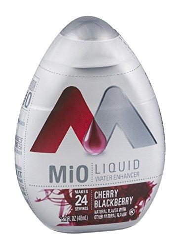 Mio MiO Liquid Water Enhancer Cherry Blackberry 1.62 OZ (Pack of 24) by Mio