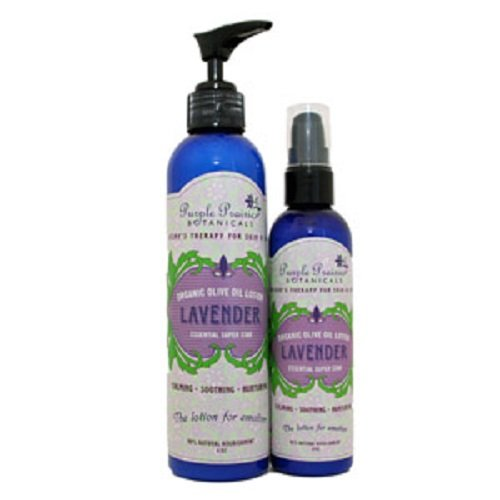 Lavender Organic Olive Oil Lotion 4 oz