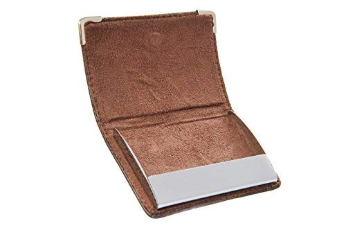 Porte Avec Coins Magnétique cartes Et Fermeture Marron Métallique De g316 De Des Monumentum Visite 6Yqpxqd