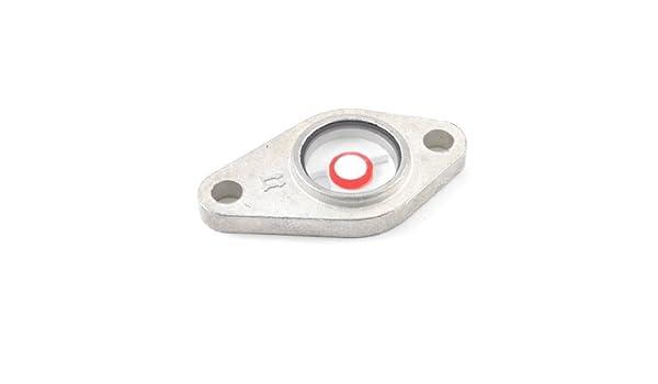Metal Tornillo Fijo Diámetro 9 mm Diámetro del nivel de aceite Mirilla para Compresor de Aire: Amazon.es: Bricolaje y herramientas
