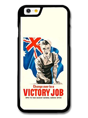 Victory Job Cool Tattoo Retro Propaganda case for iPhone 6 6S