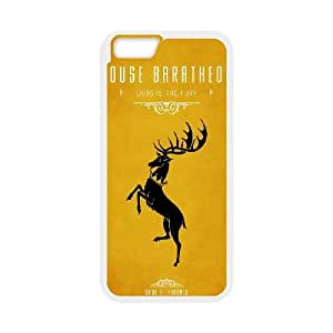Game Of Thrones House Baratheon iPhone 6 4.7 Inch Cell Phone Case White DIY Gift xxy002_5042542
