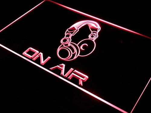 Cartel Luminoso ADV PRO s013-b On Air Headphone Headset ...