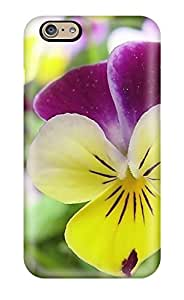 9591040K36008042 Iphone 6 Case Cover - Slim Fit Tpu Protector Shock Absorbent Case (flowers S)