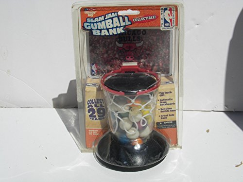 Slam Jam Gumball Basketball NBA Bank Chicago Bulls Illinoy Toy