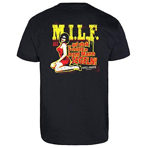 """Rotz & Wasser """"M.I.L.F."""" T-Shirt (M)"""