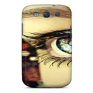 STWanke Perfect Tpu Case For Galaxy S3/ Anti-scratch Protector Case (love Eye)