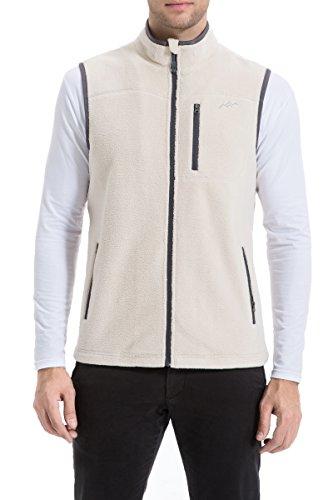 Zip Front Fleece Vest - 4