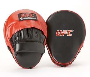 Ufc - Mitones de boxeo para hombre, color negro y rojo