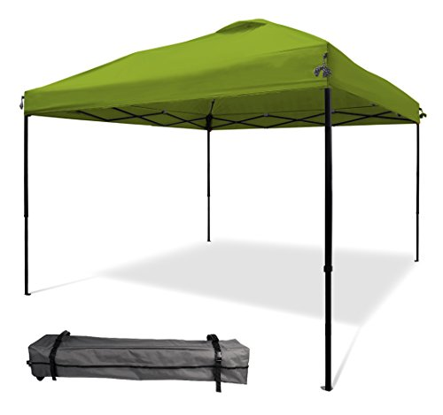 XGEAR 10x10 Pop UP Canopy Tent Instant Shelter Straight Wall with Wheeled Carry Bag