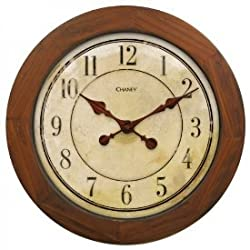 Chaney Instruments 46077 CH AcuRite 16 Wood Wall Clock