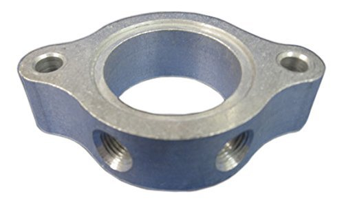 """Wehrs Machine WM39375 Chevy V8 Aluminum 1/"""" Thick Water Neck Spacer"""