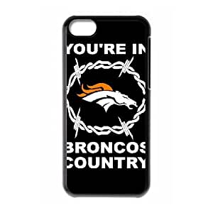 Denver Broncos iPhone 5c Cell Phone Case Black persent zhm004_8518408