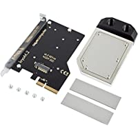Aquacomputer KryoM.2 PCIe 3.0 x4 Adapter for M.2 NGFF PCIe SSD, M-Key with Nickel-plated Waterblock
