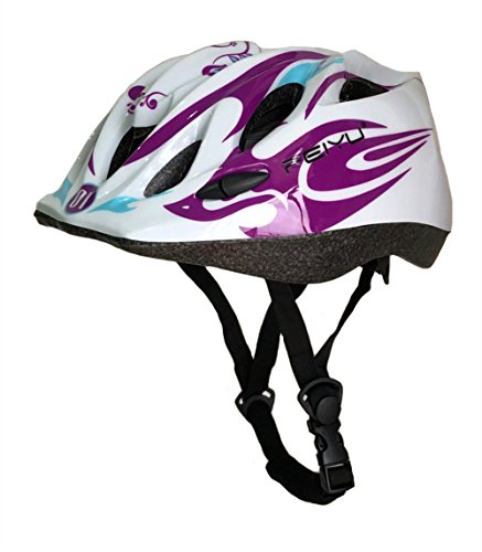 Cheap Seven Stones Kids MTB Road Mountain Bike Helmet Ultralight Safety Bicycle Helmet Children Cycling Multisport protective Helmet-white