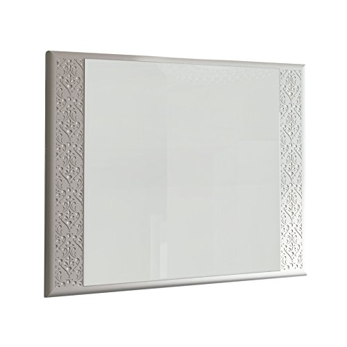 Eviva EVMR908-32WH-Venice Rome 32'' Modern Luxury Bathroom Mirror Combination, White by Eviva (Image #2)