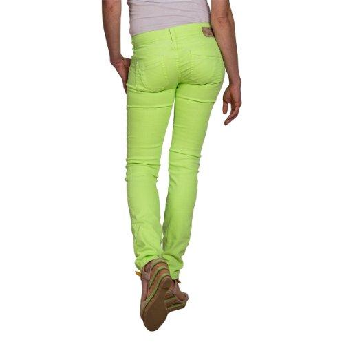 Timezone Yellow Neon Skinny 7049 Jaune Femme Jeans PwqXf0rP