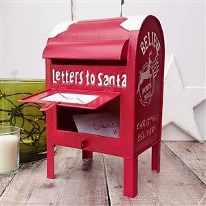 Cassetta delle Lettere a Babbo Natale in Metallo