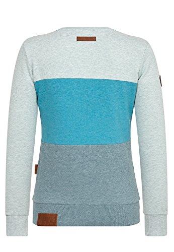 Naketano Arschfritöse Female Sweatshirt Nasty Mint Melange, M
