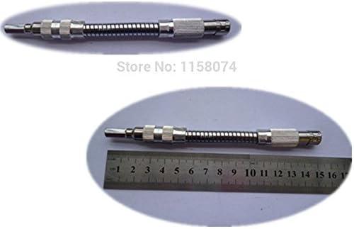 6.3 ミリメートル六角シャンク可動中継ドライバー ビット 150 ミリメートル長さ屈曲可能な拡張磁気スクリュー ドライバー シャフト ビット先端ホルダー ロッド
