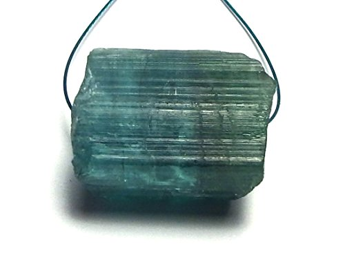 BLUE TOURMALINE Indicolite 19mm Nugget Bead NATURAL 35 carats /N12
