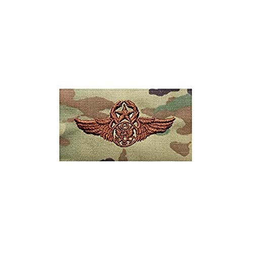 US Air Force Chief Enlisted Aircrew OCP Spice Brown Badge