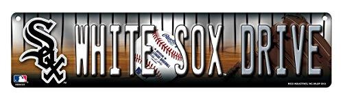 MLB Chicago White Sox High-Res Plastic Street Sign