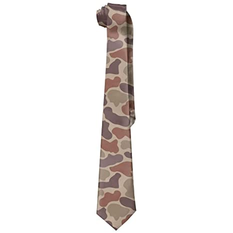 Corbatas de seda para hombre, diseño de camuflaje militar, regalo ...