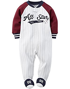 Carters Baby Boys' All Star Sleep N Play