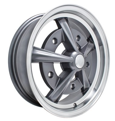 PREMIUM RAIDER WHEEL, Grey, 17x7'', 5 on 205mm
