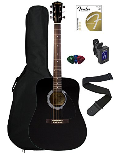 fender-fa-100-dreadnought-acoustic-guitar-bundle-with-gig-bag-tuner-strap-picks-strings-black